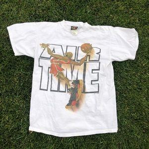 1998 Air Time tee sz L